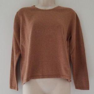 Vintage Orvis Cashmere Blend Long Sleeve Sweater